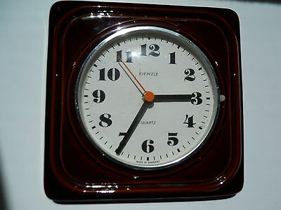 Vintage ceramic Kienzle wall clock