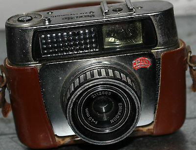 Braun Nurnberg Paxette Electromatic 35mm Camera with Ennagon 40mm Lens