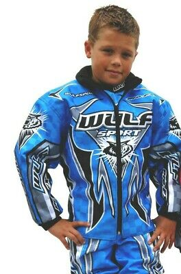 Wulfsport Kids Pro FX Race Ride Jacket Childrens Motocross MX Quad
