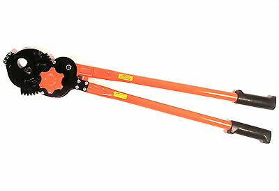 HUGE NOS Klein JAPAN HEAVY-DUTY RATCHETING CABLE CUTTER #63700 $1248 RETAIL !!