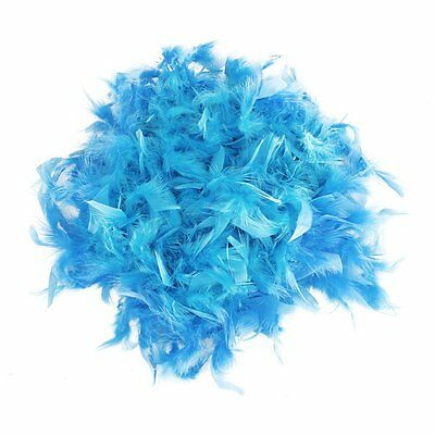 2m Feather Boas Fluffy Craft Costume Dressup Wedding Party Decor (Light Blue) SP