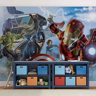 Marvel Avengers Team WALL MURAL PHOTO WALLPAPER (3363DK)