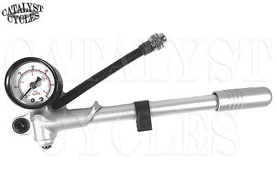 Air Shock Pump for Harley Air Shocks Hand Pump fits Harley Rear Suspension