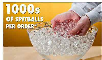 SpitBalls Expand 200 Times 3000 Ball Pieces Water Toy Play Kids Adult Gift New