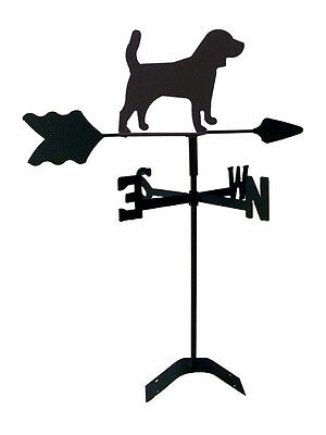 beagle roof weathervane black wrought iron look made in usa tls1061rm
