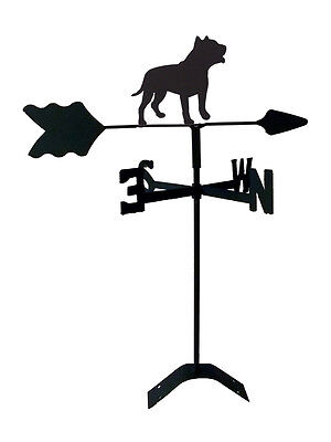 pit bull roof weathervane black wrought iron look made in usa tls1062rm