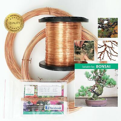 Bonsai Wire | 99.9% Copper - genuine jewellery grade | train bonsai plant in pot