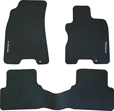 NISSAN X-TRAIL T31 WAGON CAR FLOOR MATS FRONT & REAR SET 2007 to 2013