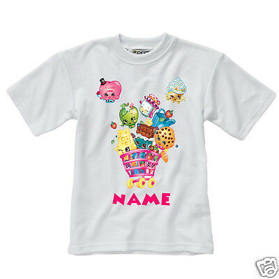 Personalised Children's T-Shirt - Shopkins - Style 2