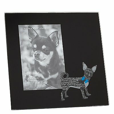 Chihuahua Photo Frame - Wild About Words