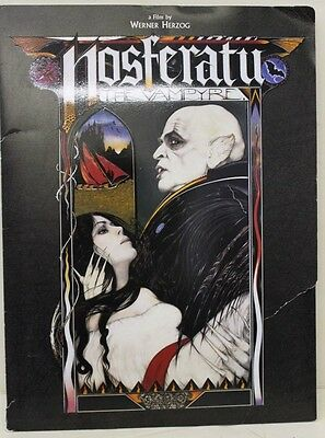 Nosferatu Press Release Folder: Filled w tons of Color Press Release Papers !