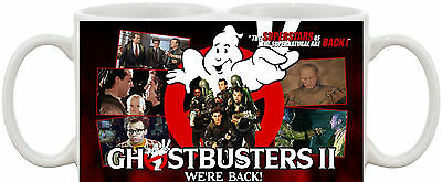 Ghostbusters 2 Classic Dvd Movie Mug *great Gift* Uk Seller