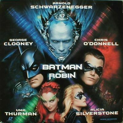 Batman & Robin Ws Ac3 Cc New & Sealed Ntsc Laserdisc