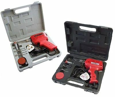 New Electrical Soldering Iron Gun Kit 100/150 Watt With Case With Two Extra Tips