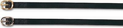 CATAGO - Spur straps Leather - brass