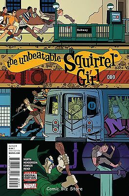 Unbeatable Squirrel Girl #9 Vol 2 (2016) 1St Printing Bagged & Boarded