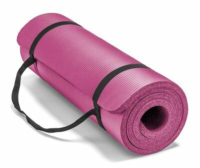 Spoga Premium 5/8-Inch Extra Thick 71-Inch Long High Density Exercise Yoga Mat w