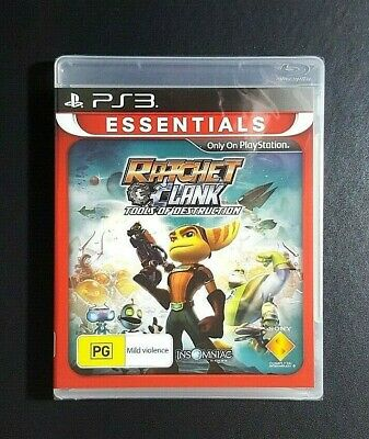Ratchet And Clank Tools Of Destruction *NEW / SEAL - Sony PlayStation 3 PS3 Game
