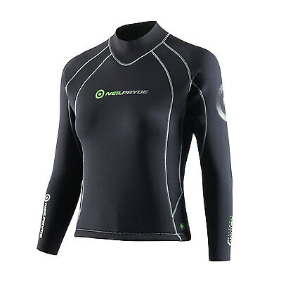 Neil Pryde Womens ELITE Firewire Matrix Heatseeker Wetsuit Top