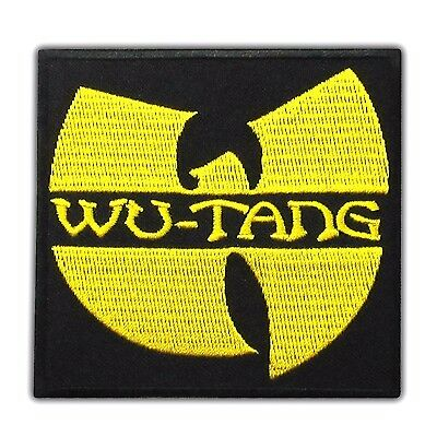 Wu Tang Clan Music Band Embroidered Iron On Patch Hip Hop Logo Applique Hardcore