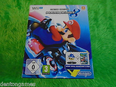 wii U MARIO KART 8 Limited Edition SPINY SHELL Collectors BOX ONLY NO GAME/SHELL