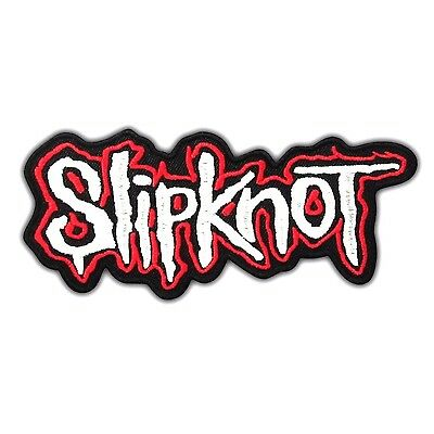 SLIPKNOT Heavy Metal Rock Music Band Embroidered Iron On Patch Logo Punk Nu Song