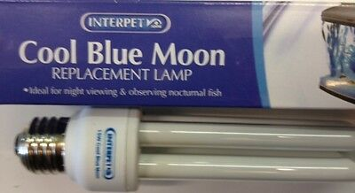 Interpet Cool Blue Moon Replacement Fish Pod Bulb 15W. Free First Class Post!!