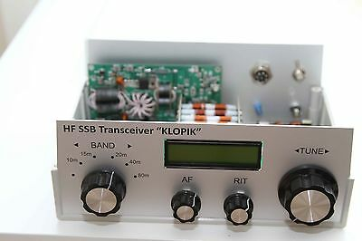 FULL KIT  of TRX CW/SSB Klopik-2 transceiver Russian v.2.1 - 5 band with CASE!