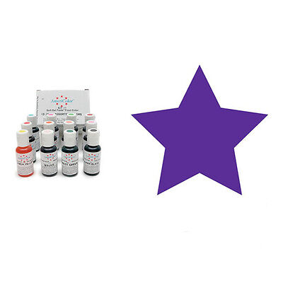 Electric Purple Americolor Soft Gel Paste Food Colour - 4.5oz - Craft Uses Only