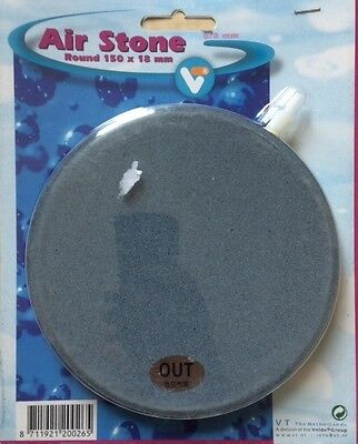 Velda Disc Air Stone 150mm x 18mm for aquariums or ponds. Free First Class Post! • EUR 12,03