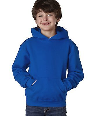 Jerzees Youth Boy's Girl's NuBlend Hooded Pullover Solid Sweatshirt Hoodie 996Y