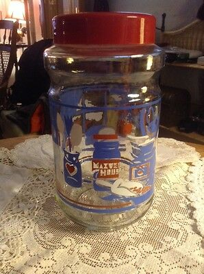 Maxwell House Glass Jar Vintage 1988-1989?