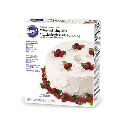 Whipped Vanilla Icing Mix  White By Wilton