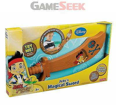 Jake And The Never Land Pirates Magical Sword - Toys/games Brand New
