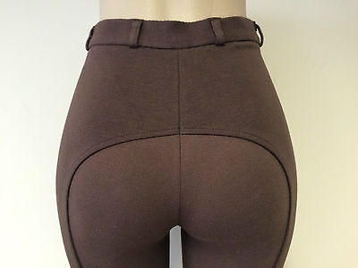 Ladies Chocolate/brown Two Tone Riding Jodhpurs/jodphurs All Sizes