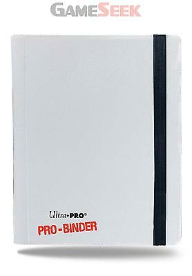 4 Pocket Pro Binder White - Games/puzzles Card Games Brand New Free Delivery