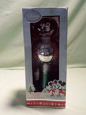 New Disney Store Share the Magic 2011 Mickey Minnie Mouse Christmas Tree Topper