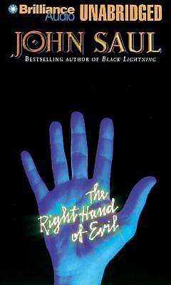 THE RIGHT HAND OF EVIL unabridged audio book on CD by JOHN SAUL