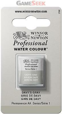 Winsor and Newton Half Pan Professional Water Colour - Davys Gray