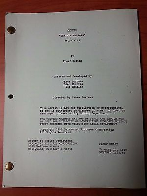 1989 Cheers Scripts Many Episodes To Choose From
