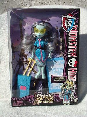 Mattel Monster High Scaris City Of Frights Frankie Stein Doll New Sealed Mib!