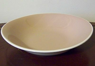 Harker Bamboo Coupe Soup Bowl Ironstone Harkerware Vintage MCM