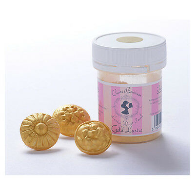 Gold Pearl Lustre Dust 5g By Claire Bowman