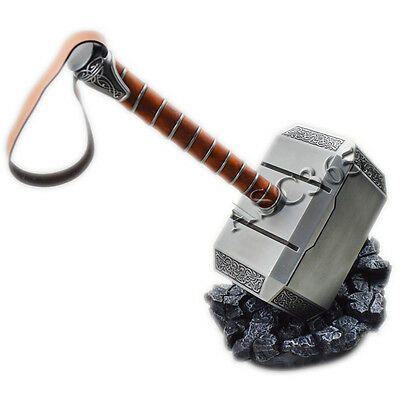 1:1 Full Metal Avengers Thor Hammer 1:1 Replica Cosplay Prop Reproductions New