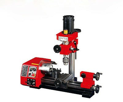 M1 Micro Multi-function Machine Drilling and Milling Lathe machine 250mm 220V Y