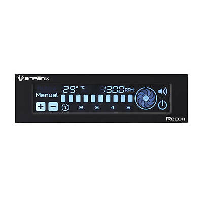 New Bitfenix Recon BFA-RCN-KS-RP Fan Controller w/ Internet Connection (Black)