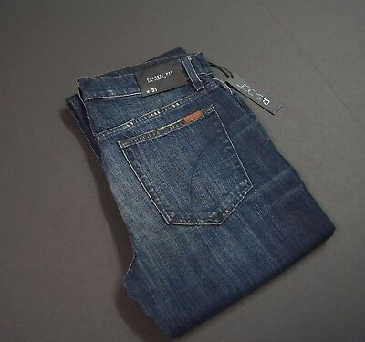 """JOE'S JEANS """"The Classic Fit"""" Straight Leg Distressed Blue Jeans NEW NWT"""