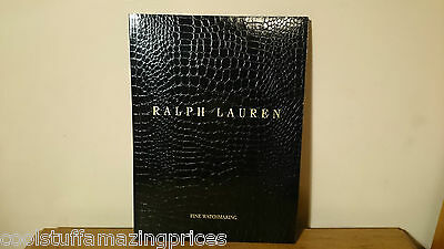 rare RALPH LAUREN WATCHES  2013 Men's & Women's Fine Watchmaking BOOK / BROCHURE