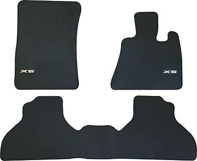 BMW X5 E70 CAR FLOOR MATS FRONT AND REAR SET 2007 to 2013