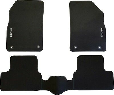 HOLDEN CRUZE CAR FLOOR MATS FRONT & REAR SET 2009 to 2016  SEDAN HATCH WAGON